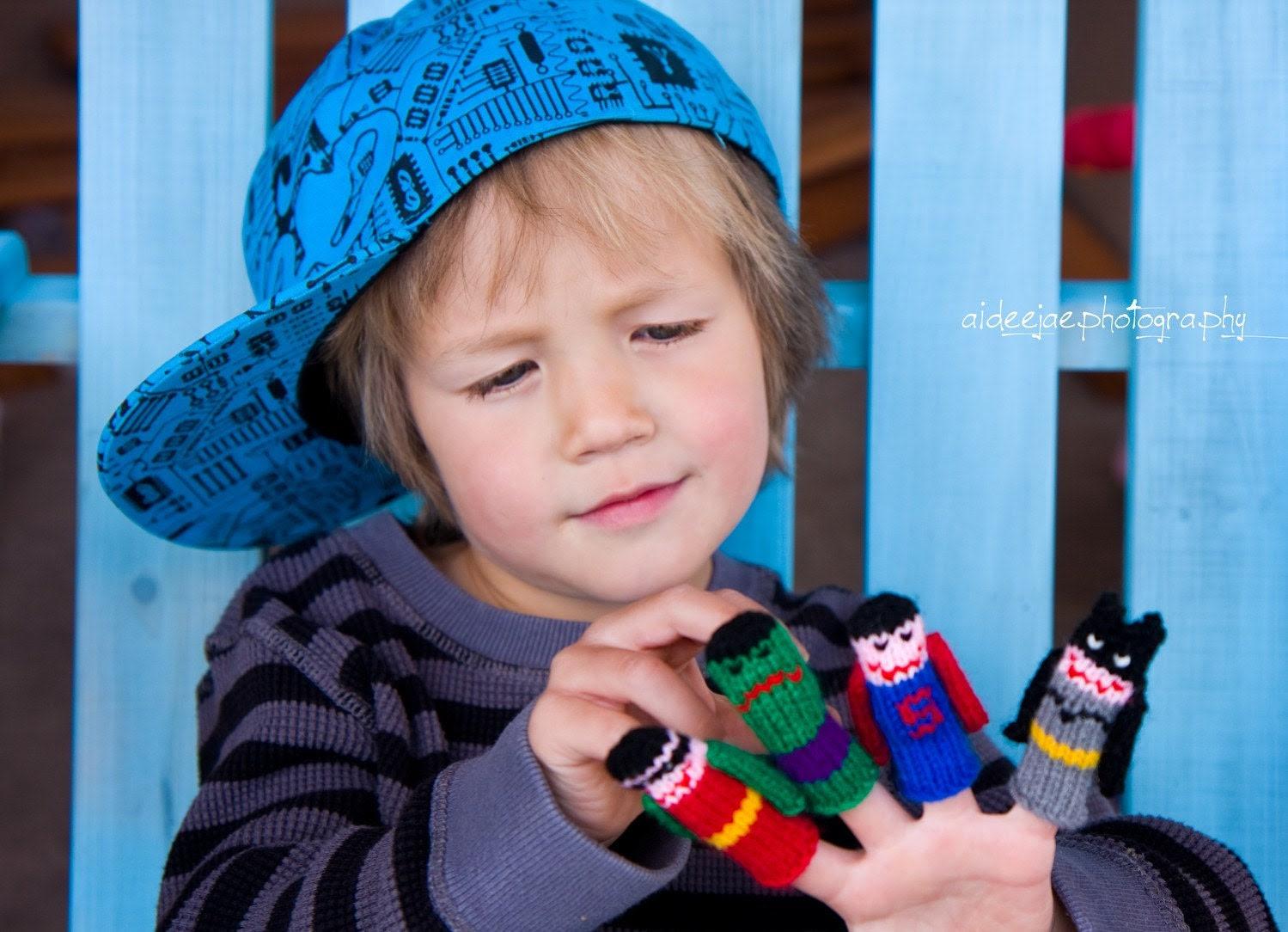 WeeKnit's Finger Puppet Sets