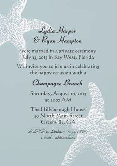 wedding party invitations after marriage   The charming