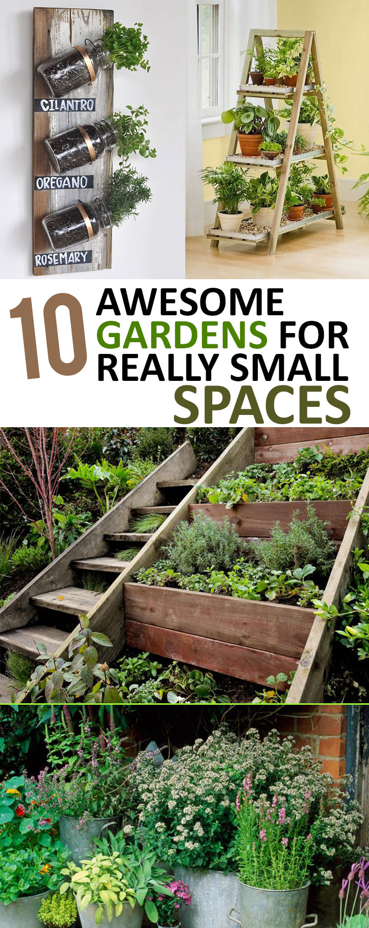 Small Space Garden Ideas Homsgarden
