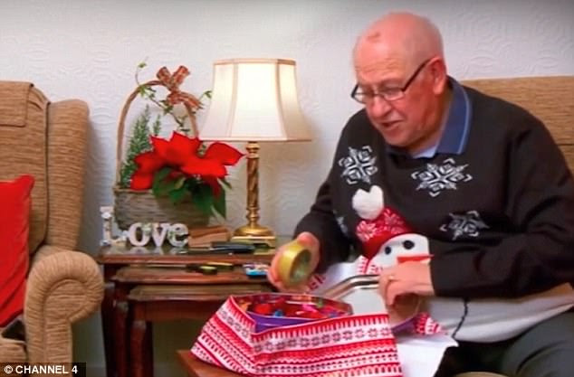 Tribute: Channel 4 has dedicated its Christmas Gogglebox show to late cast member Leon Bernicoff, who died on Saturday at the age of 83 after a short illness