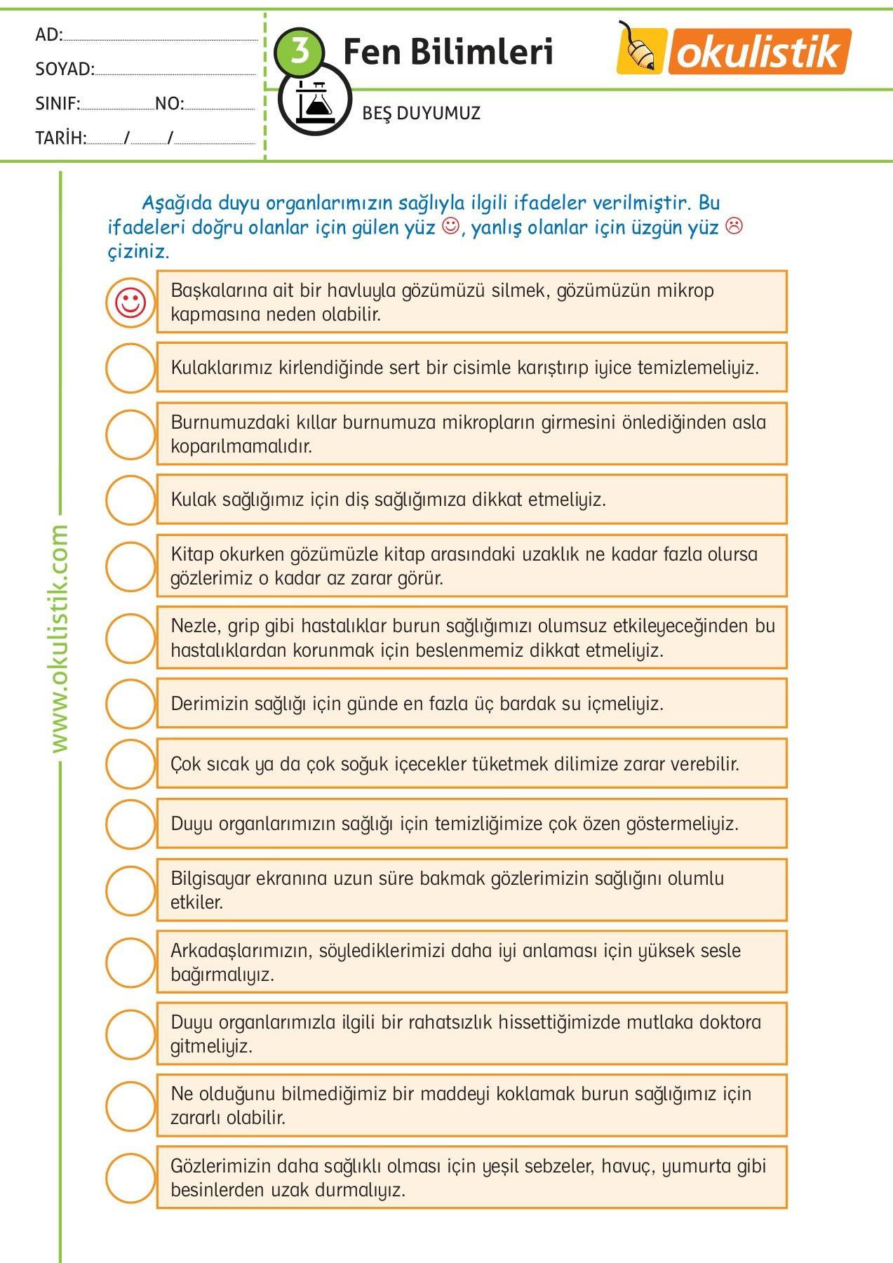 Fen 3sınıf ödev Kağıdı 30sf Pages 1 33 Text Version Fliphtml5