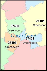 Greensboro Zip Code Map Zip Code Map Of Greensboro Nc | World Map