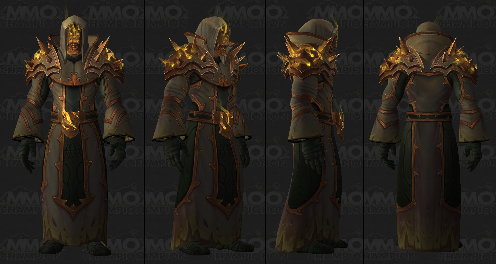 WoW Patch 7.3 - Tier 21 Armor Sets   Brave New World