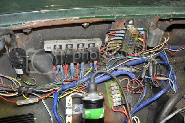 Mgb Fuse Box Wire