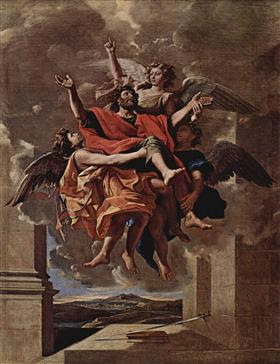 The Vision of St. Paul - Nicolas Poussin