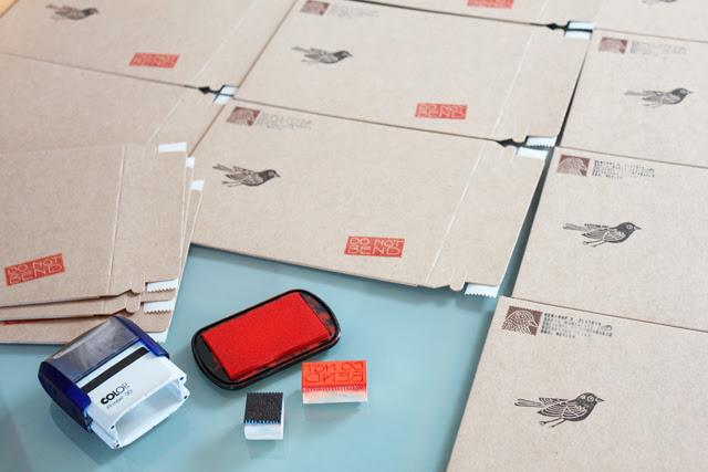 Stamping new envelopes
