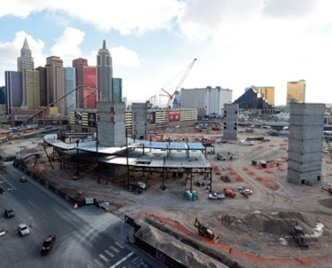 Las Vegas Arena Construction Site Tour