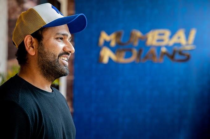 IPL 2021: Rohit Sharma Joins Mumbai Indians Squad Ahead of New Season | WATCH