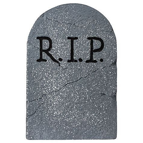 RIP Tombstone Decoration   Party City