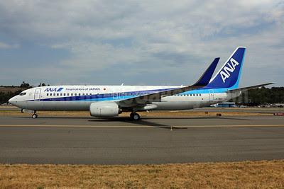 ANA (All Nippon Airways) Boeing 737-881 WL JA73AN (msn 33904) (Inspiration of Japan) BFI (James Helbock). Image: 913306.