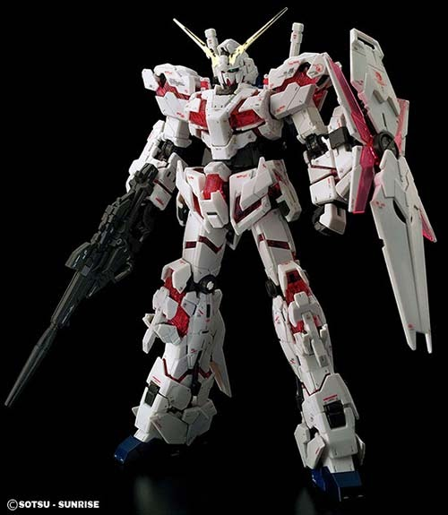 Rg Unicorn Gundam English Color Guide Paint Conversion Chart Mech9 Com Anime And Mecha Review Site Shop Reviews Model Kits Collectibles Toys And More