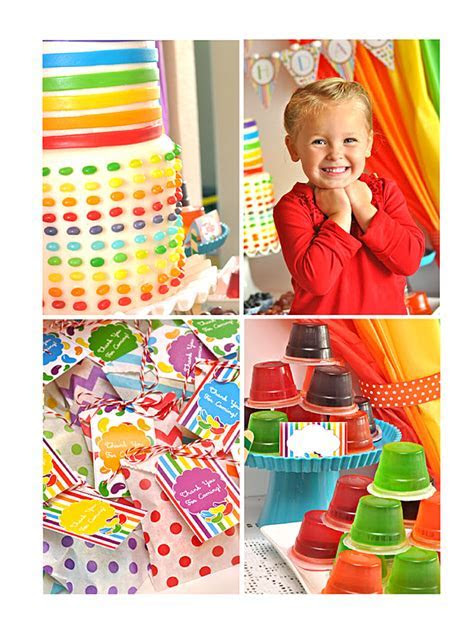Jelly Beans Birthday Party Printables Supplies