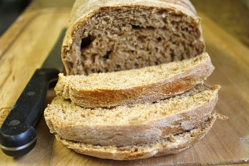 Adorkable Recipes: 100% Whole Wheat Bread Recipe (Bread ...