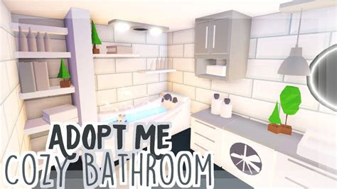cozy neutral bathroom adopt  speedbuild youtube