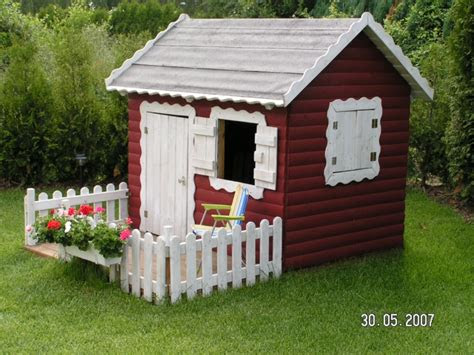 spielhaus kinderspielhaus mit veranda modell tom