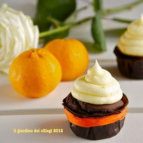 Il giardino dei ciliegi cupcakes al cacao e mandarino cucinando con il cuore - Il giardino dei ciliegi ...