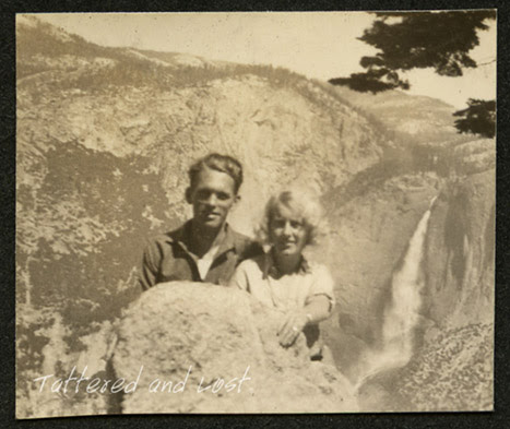Yosemite waterfall_1930s_tatteredandlost