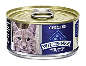 Blue Buffalo Wilderness High Protein Chicken Canned Cat Food: Amazon.co.uk: Pet Supplies