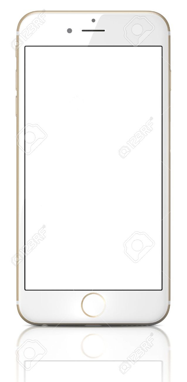Apple Gold IPhone 6 Plus With White Blank Screen.The New IPhone ...