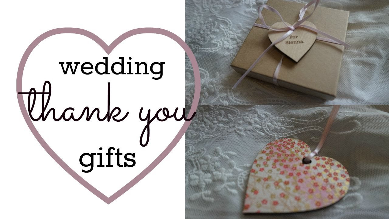 Thank You Gift Ideas For Wedding Guests