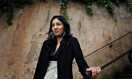 Kiran Desai … 'I lament having to give up Indian clothing now that I live in the west.'