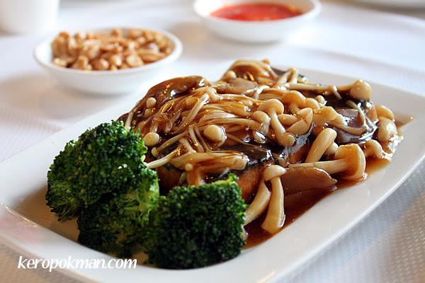 Tofu with Mushrooms