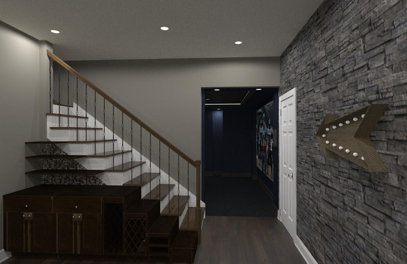 Luxury Basement Designs in Somerset County, NJ - Design ...