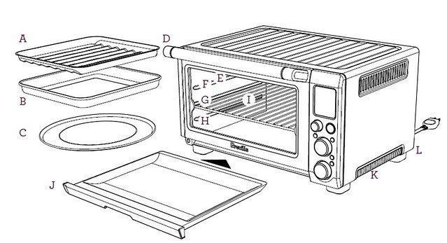 Breville Bov845bss The Smart Oven Pro Convection Toaster