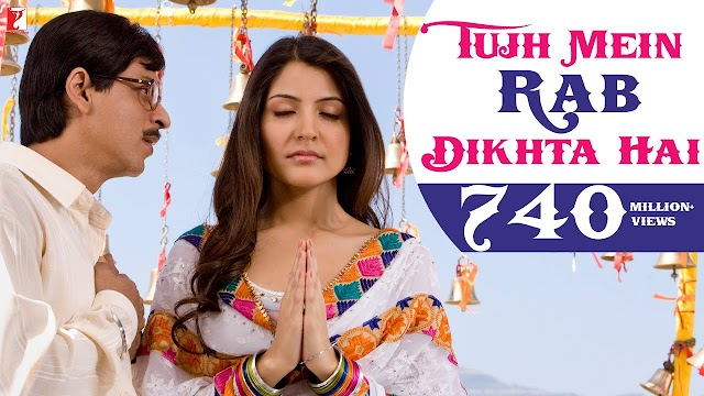 tujhme rab dikhta hai lyrics - Roop Kumar Rathod | lyrics for romantic song