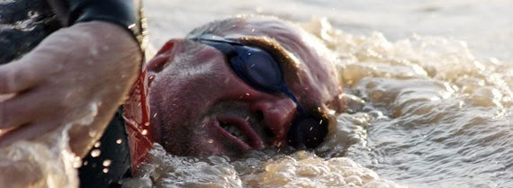 Martin swimming the amazon
