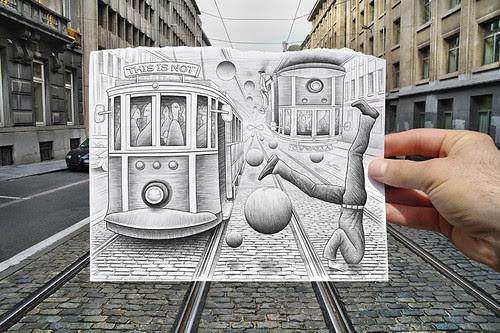 5044969981 9b84de2e1f in Incredibly Creative Pencil Drawings vs Photography