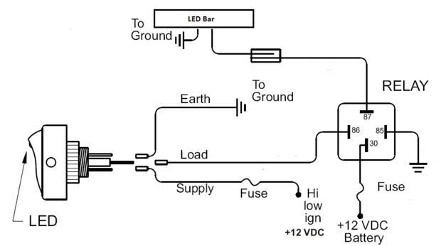 Wiring Diagram Led Light Bar