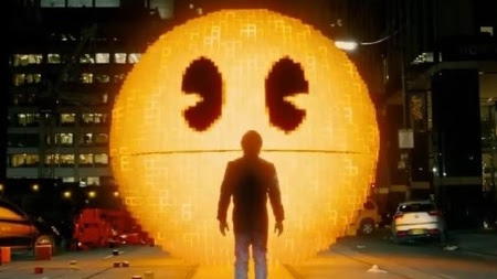 """Em """"Pixels"""" personagens como Pac Man invadem nosso mundo"""