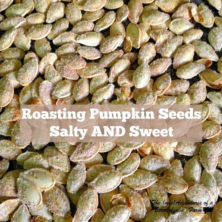 Roasting Pumpkin Seeds