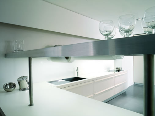 The Most Minimalist Italian Kitchen Design | DigsDigs