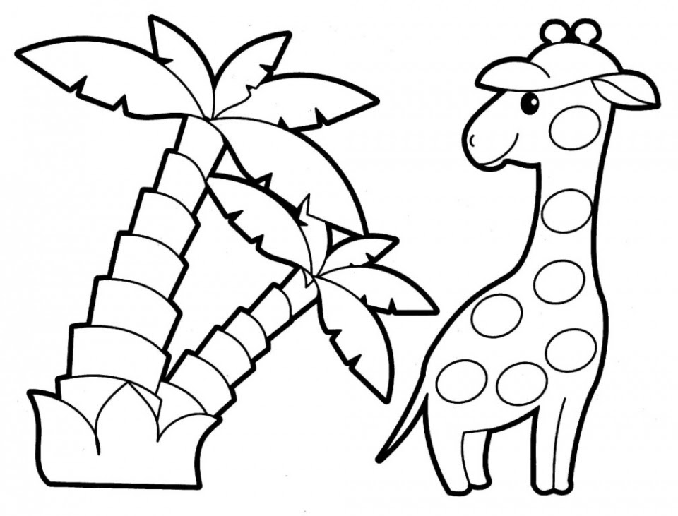 Get This Easy Printable Animals Coloring Pages for ...