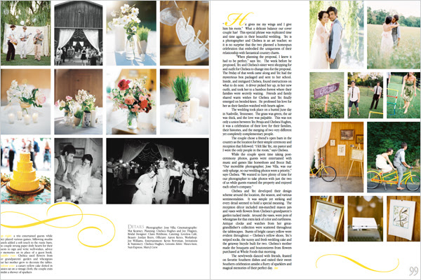 Kirstin Southern Weddings We were thrilled to have it on