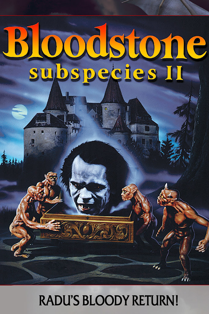 Bloodstone, Subspecies 2 (VHS Box Art)