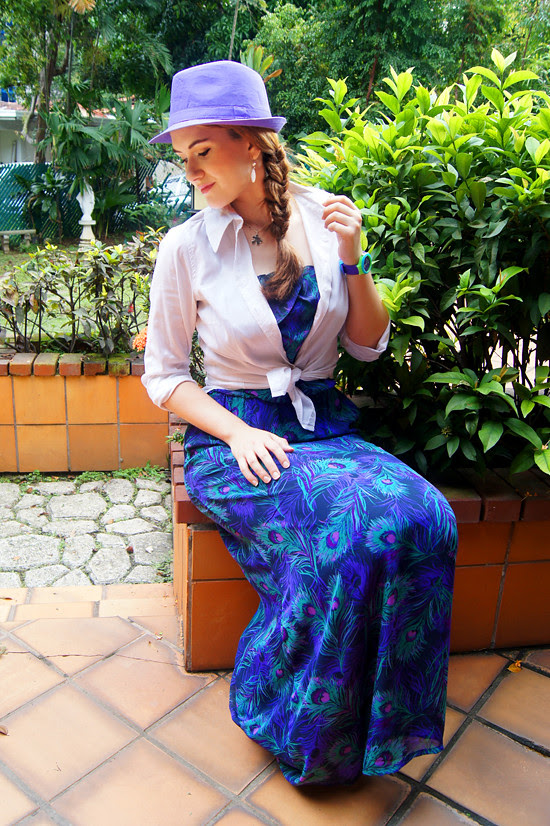 Lilac Hat by The Joy of Fashion (8)