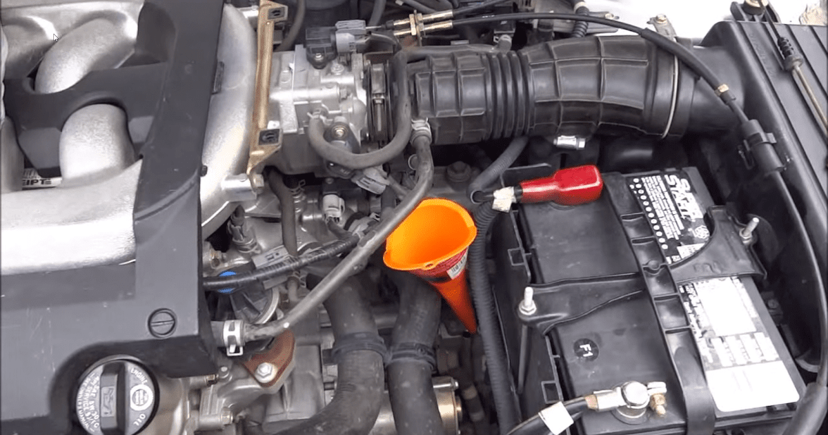 1998 Honda Civic Manual Transmission Fluid Change