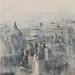 城II.水彩、木炭、紙本.73x54cm.2012
