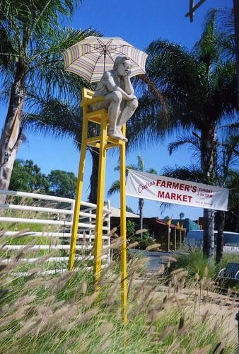 Lifeguard Sculpture