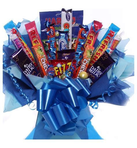 Candy Bouquet for men and boys.