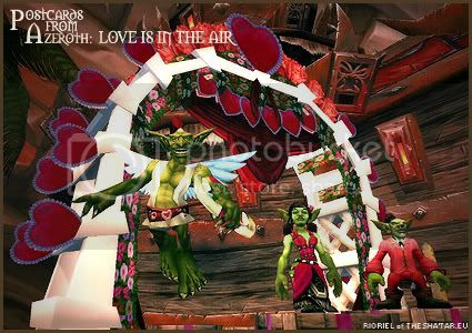 Postcards of Azeroth: Love is in the Air, by Rioriel Whitefeather