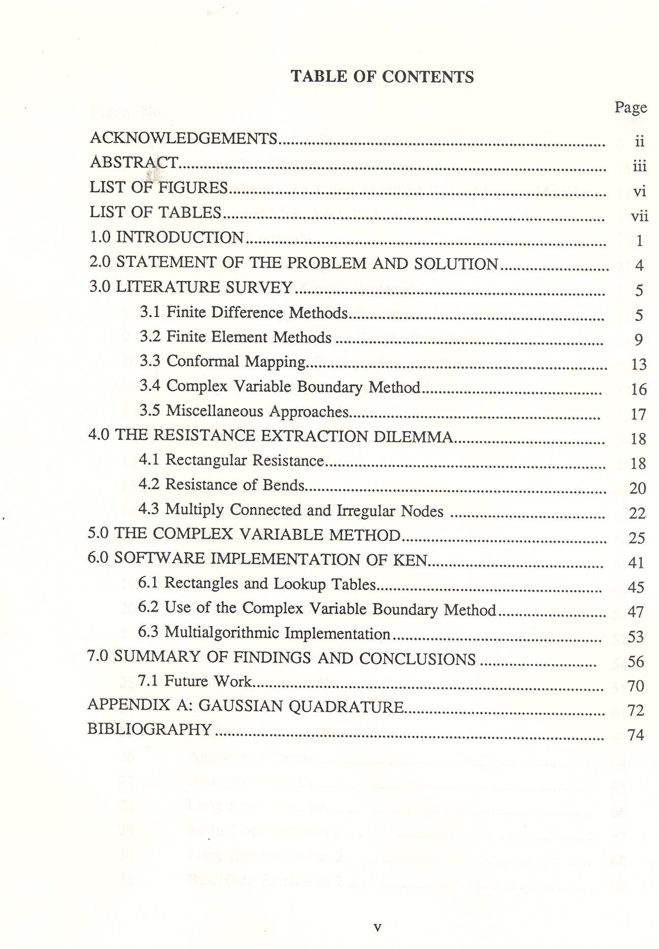 Master Thesis Table Of Contents Sample - Thesis Title Ideas For College