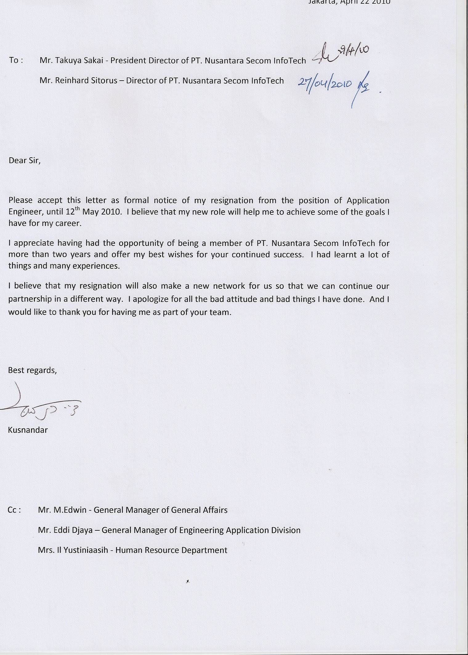 contoh surat pengunduran diri alasan hamil contoh 193