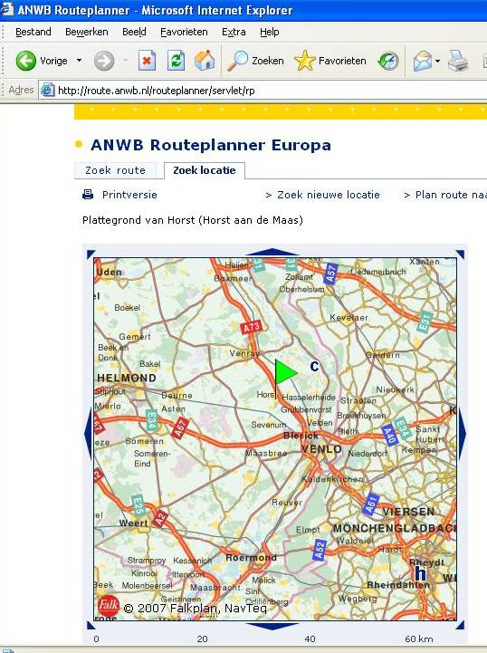 Anwb routeplanner europa