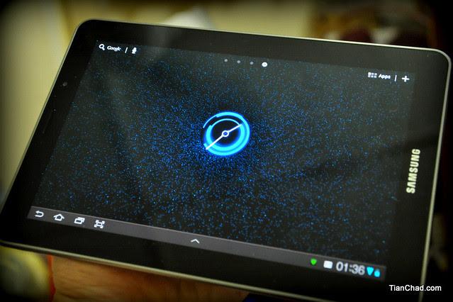 Samsung Galaxy Tab 7.7 Agent 7.7 Contest