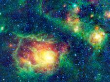 Mosaic of the Lagoon nebula