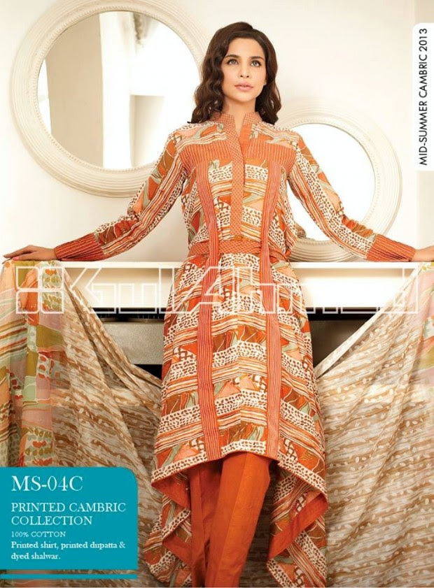 Mid-Summer-Cambric-Collection-2013-Gul-Ahmed-Printed-Embroidered-Fashionable-Dress-for-Girls-Women-19